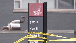 UC on campus shots fired