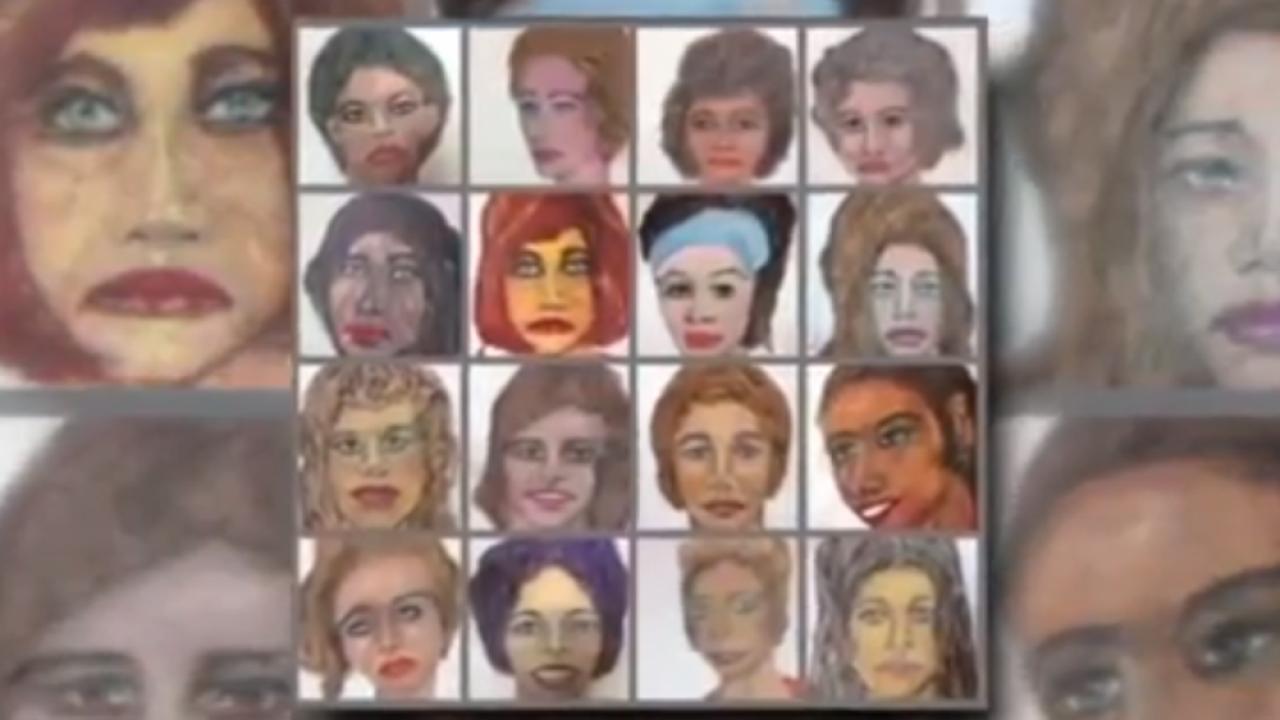 serial killer victims sketches