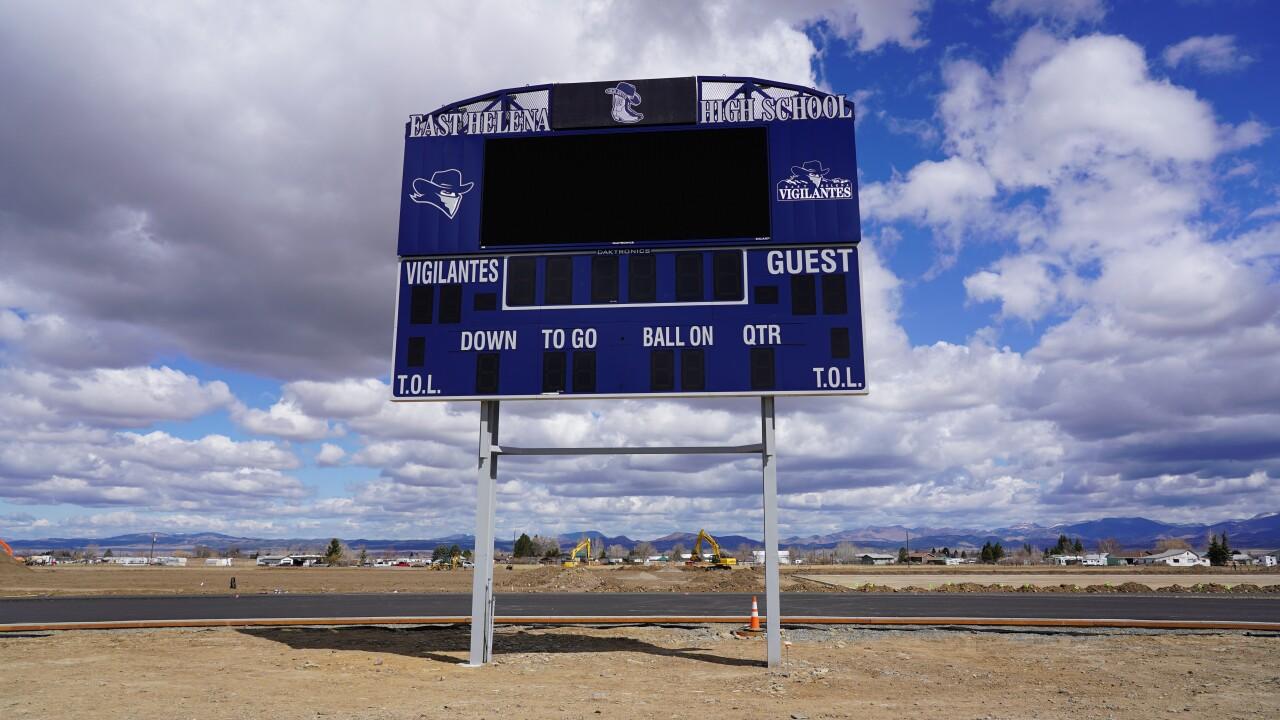 East Helena Vigilantes scoreboard