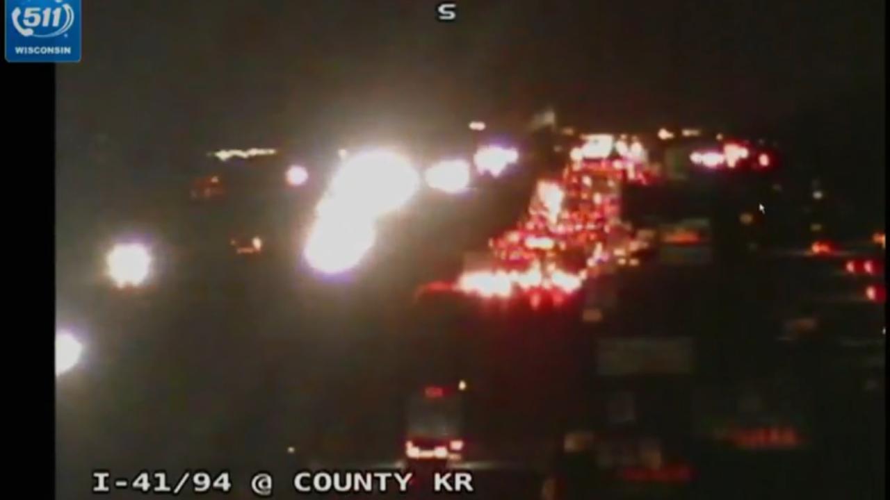 Traffic Alert: I-94/41 southbound in Kenosha County reopens