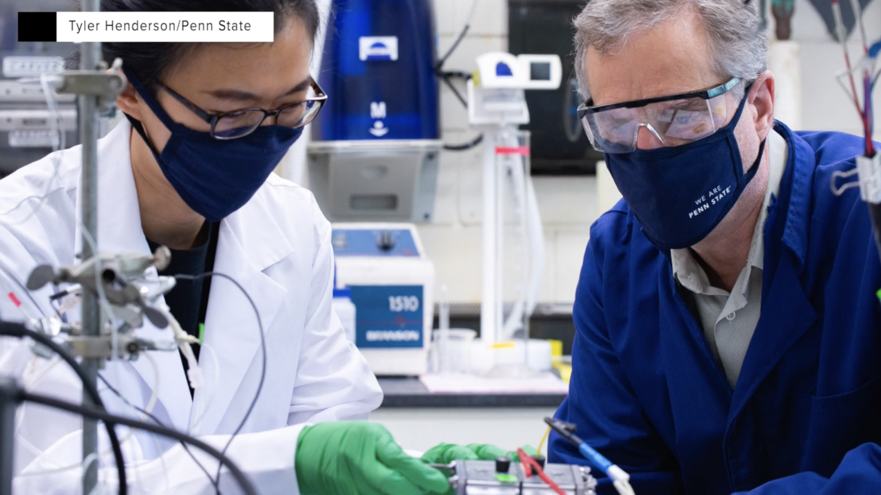 Researchers look to seawater for renewable hydrogen fuel