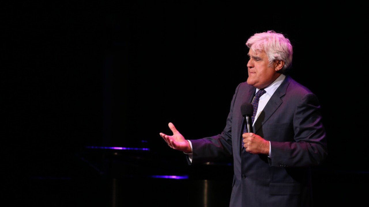 Jay Leno makes rare appearance at Wharton Center in Lansing