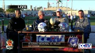 The coaches speak: Miller vs Veterans Memorial