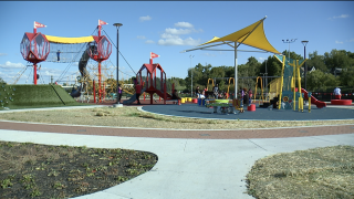 15 and Mahomies Playground at Martin Luther King Jr. Park