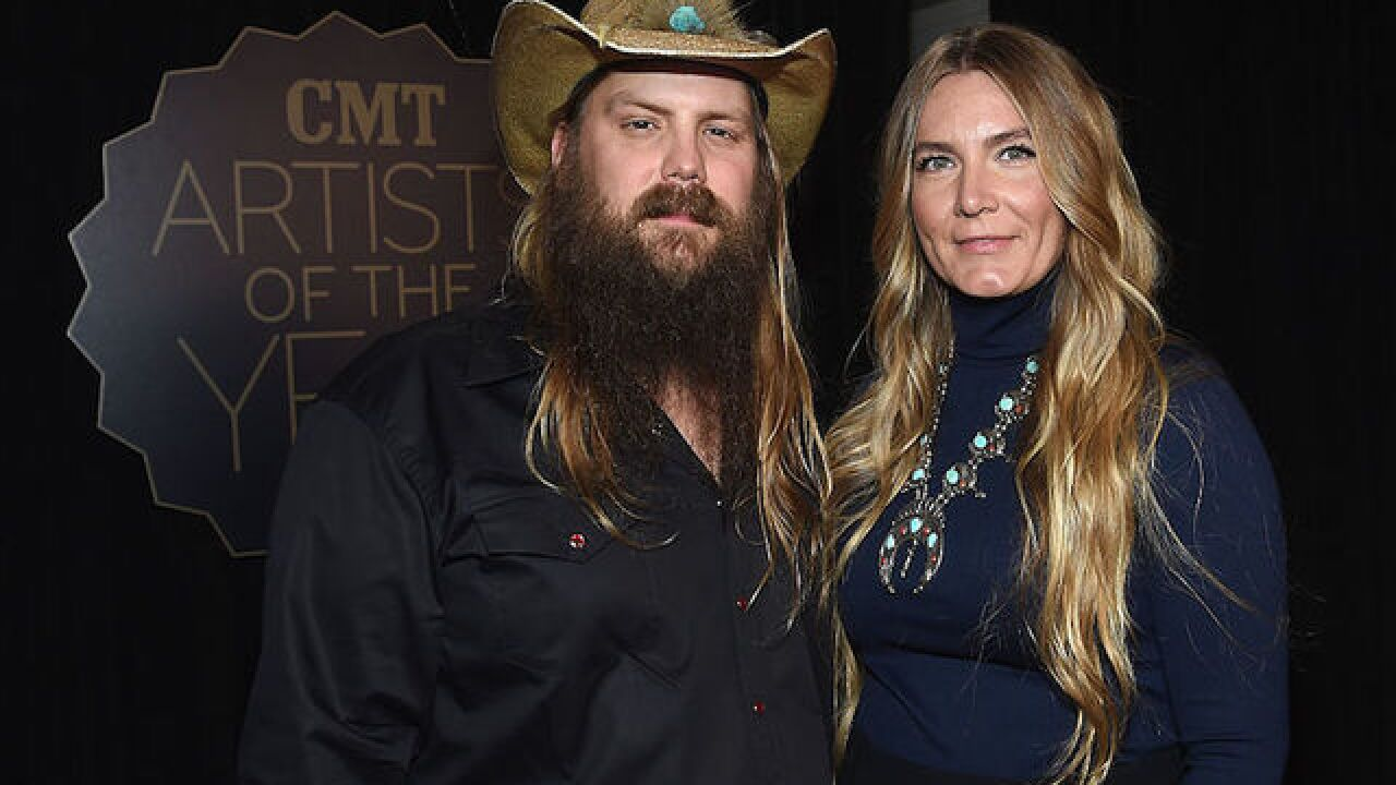 Chris and Morgane Stapleton are expecting twins