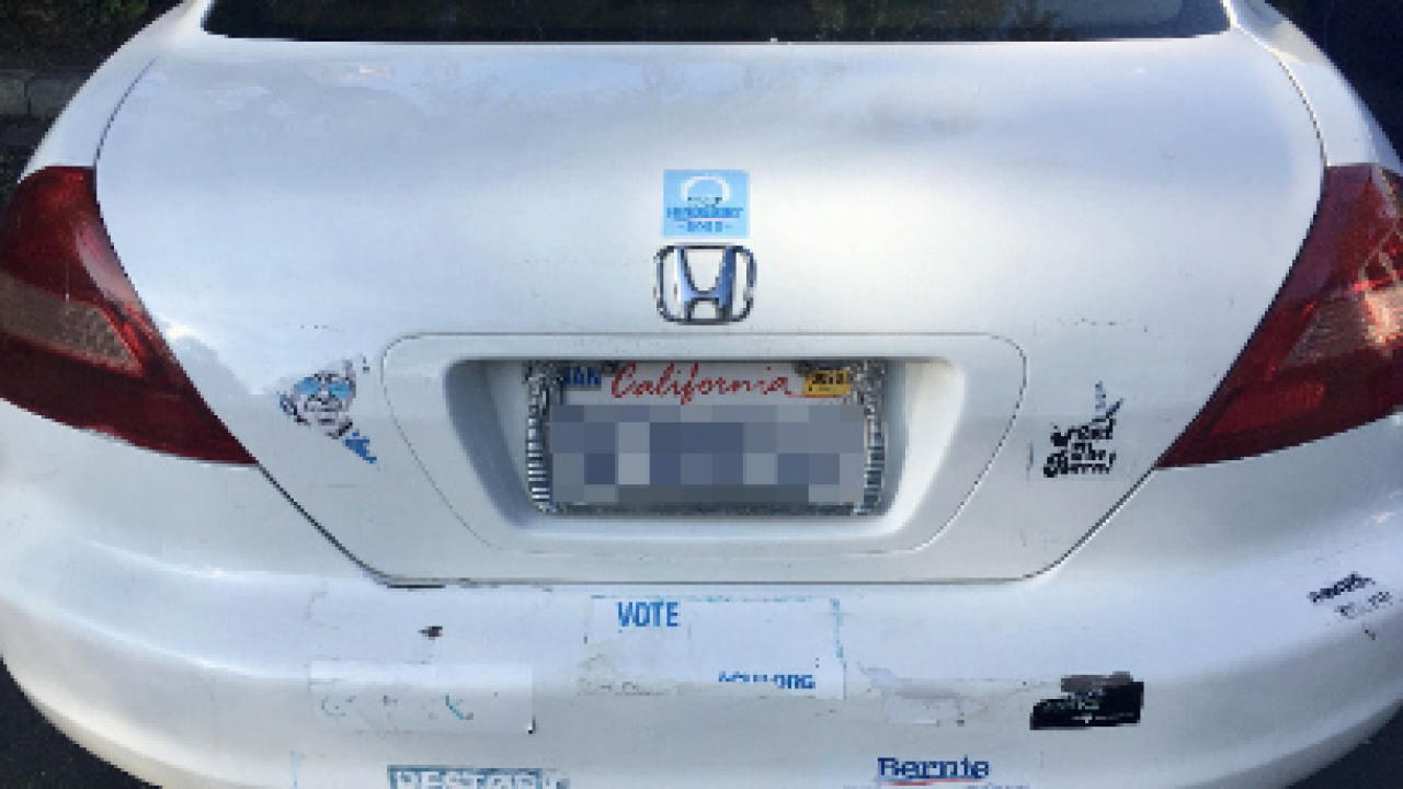 Thieves, vandals target local supporters of Republican, Democratic candidates