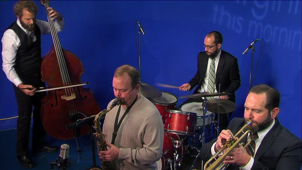 Celebrate your Friday with two jazz numbers by the Scott Clark 4Tet