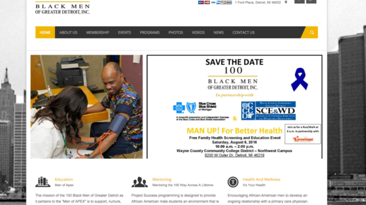 """MAN UP!"" health event happening in Detroit on Saturday, August 6"