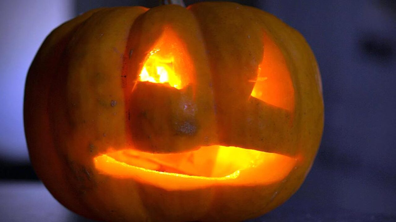 Man and 4-year-old girl suffer first and second degree burns after trying to light pumpkin