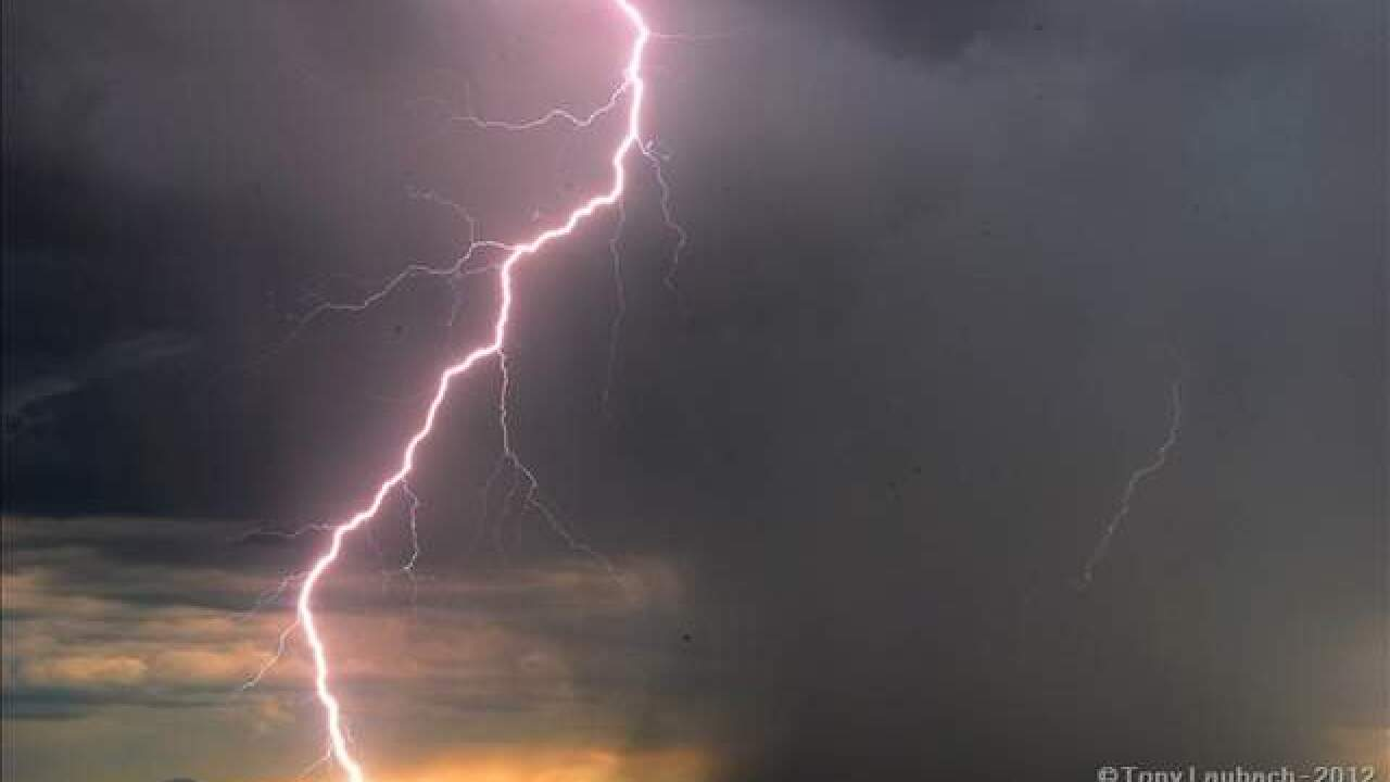 Lightning strikes 186-year-old church during storms