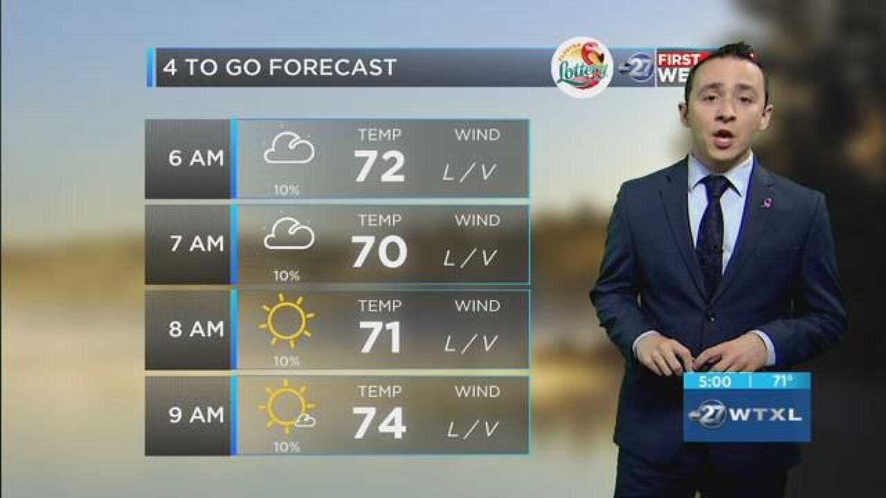 First Alert 4-to-Go Forecast: Oct. 16, 2018