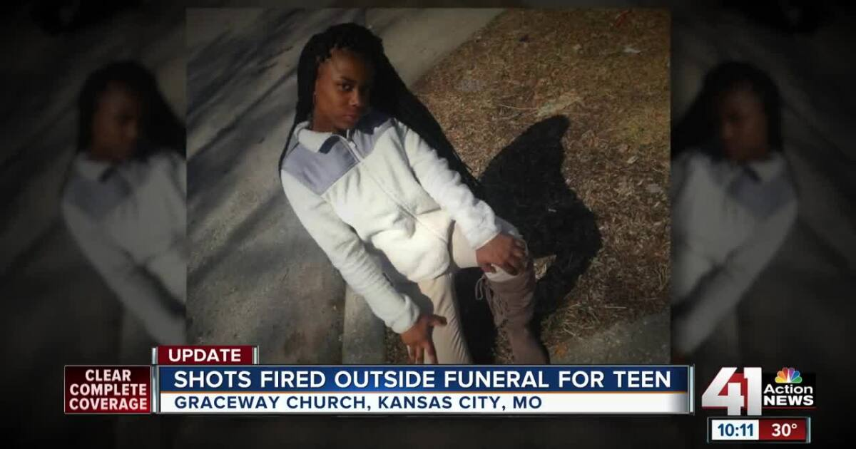 Shots Fired Outside Funeral For Slain Kcmo Teen Anjanique Wright