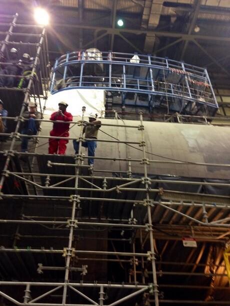 Photos: PCU John Warner reaches a majormilestone