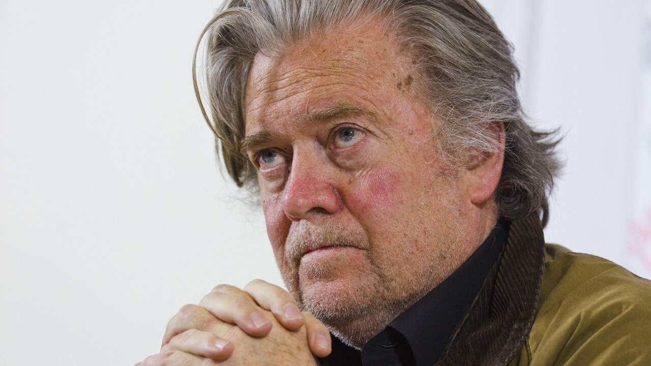 Steve Bannon arrested in connection with online fundraising scheme