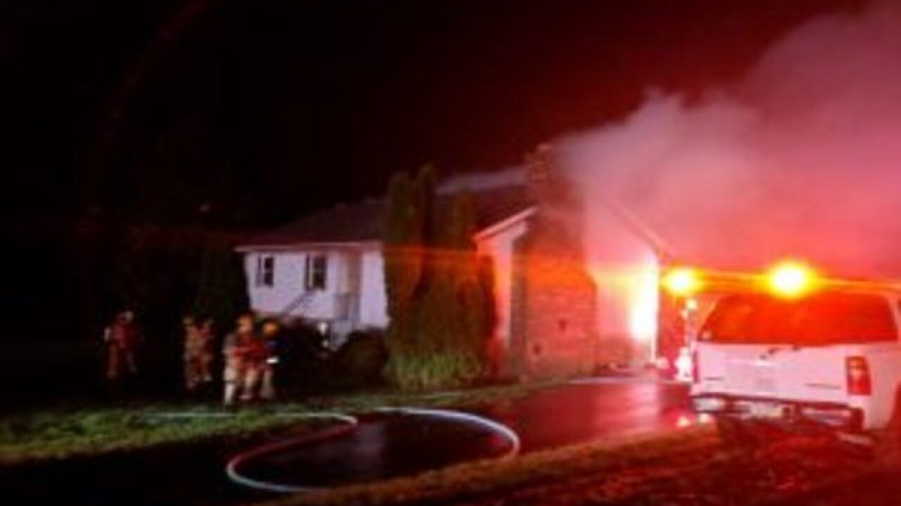 Crews from Md. and Pa. battle Parkton house fire
