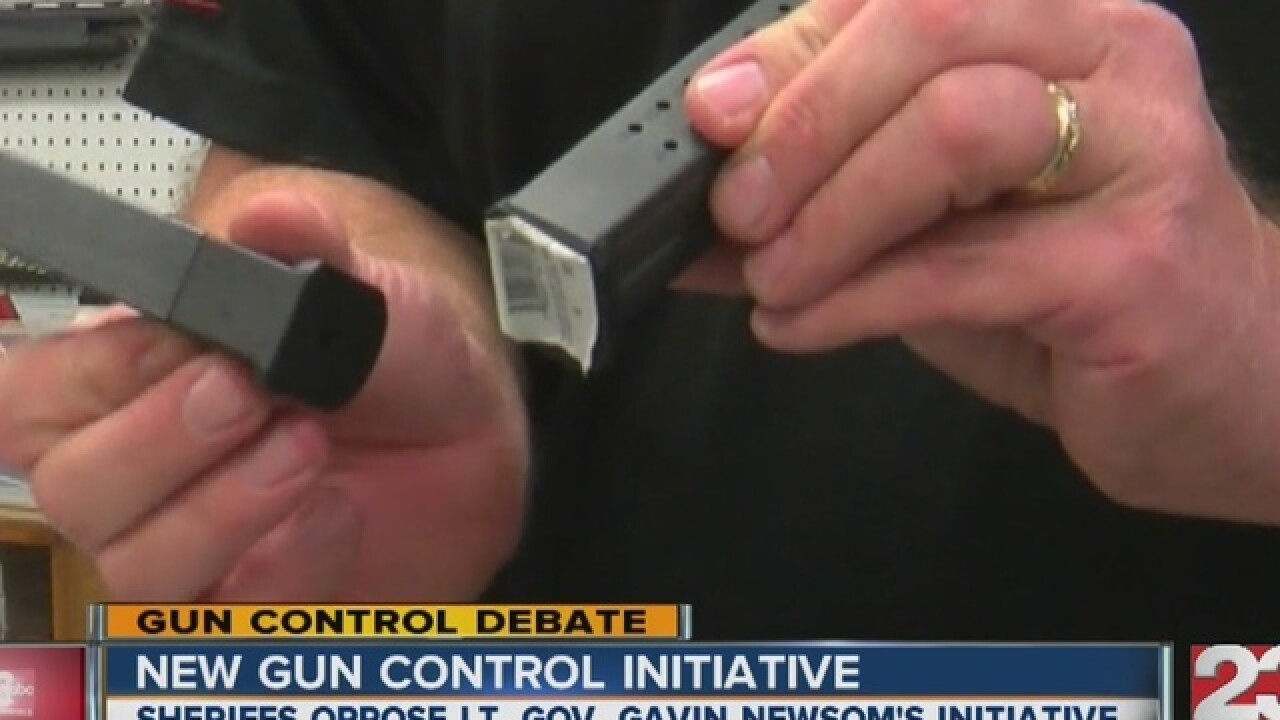 New Gun Control Initiative