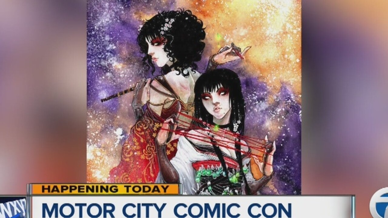 Motor City Comic Con returns this weekend