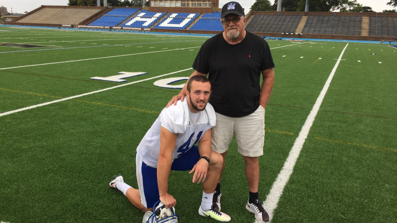 Un-Broken Leg: Hampton punter Christian Faber-Kinney's remarkable journey