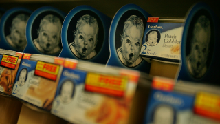 Gerber baby food file photo
