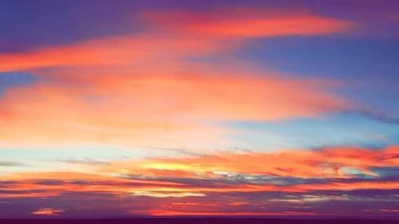 Sunrise over the Coastal Bend.