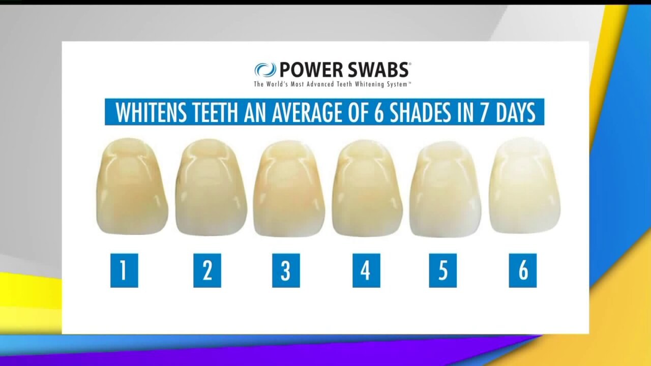 Experience a whole new smile with PowerSwabs