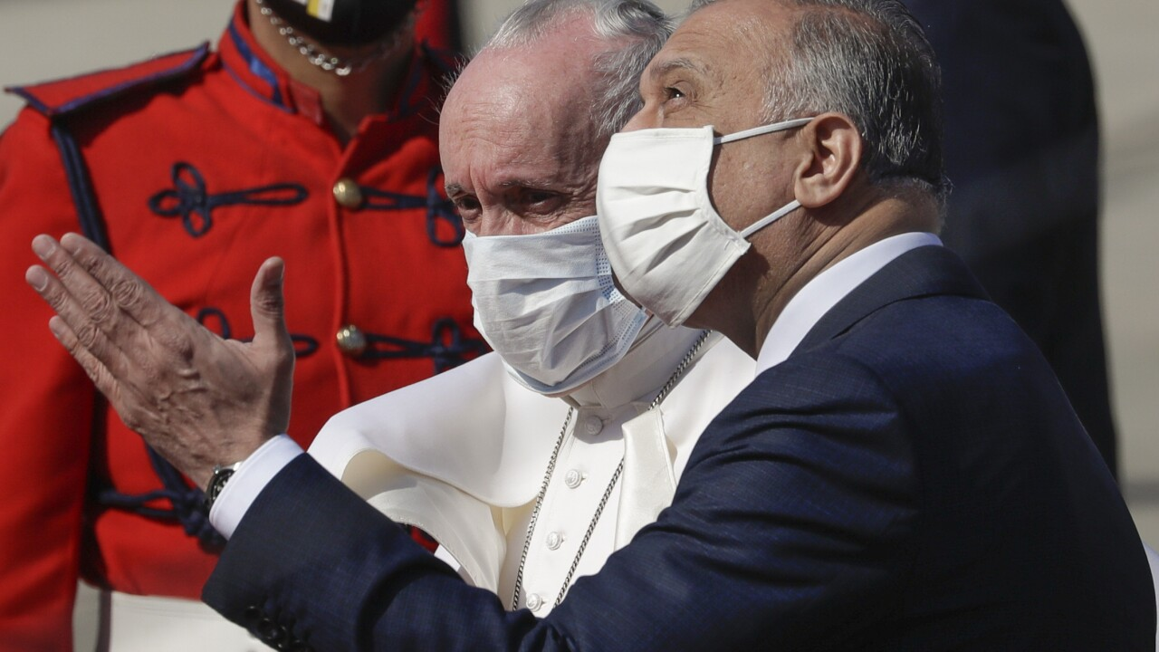 APTOPIX Iraq Pope