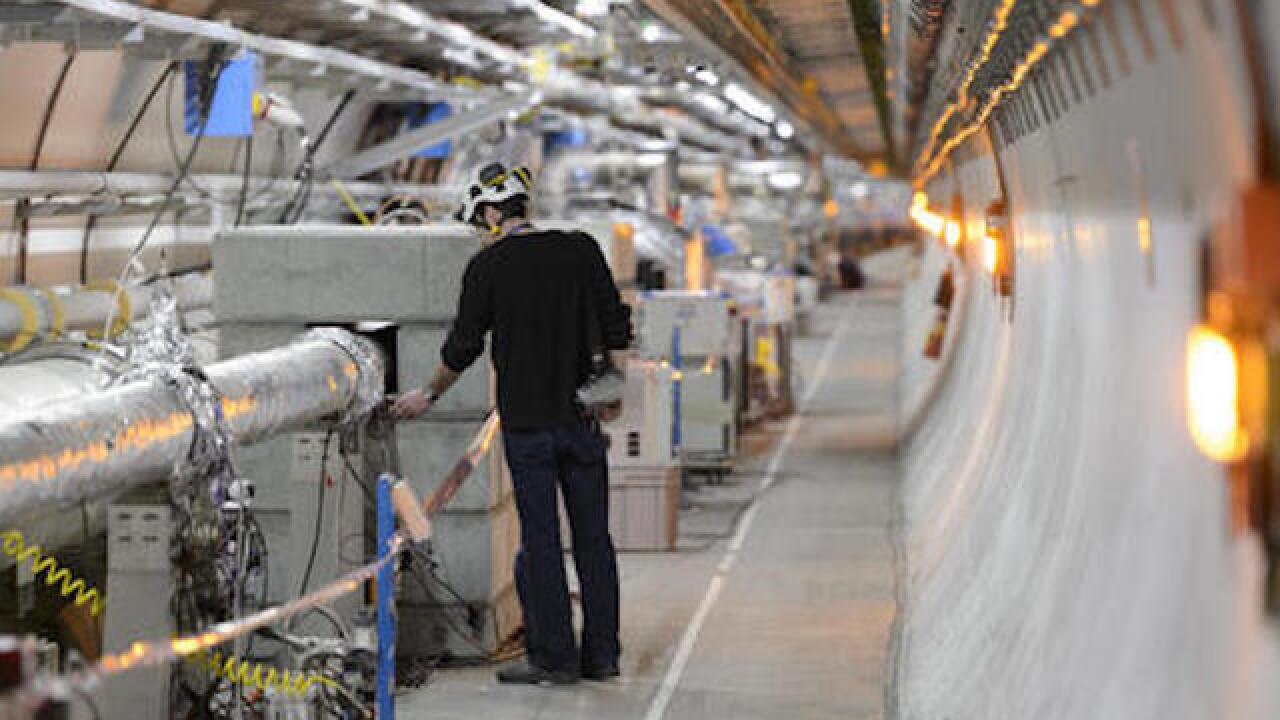 CERN 'spoof' human sacrifice to be investigated