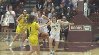 Montana Lady Griz win big over Northern Arizona in league opener