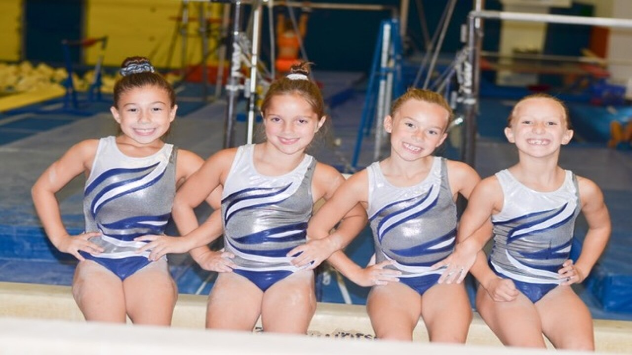 Local gymnasts compete for national team