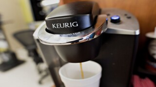 Keurig is giving away a coffeemaker on National Coffee Day—but the winner has to be named Joe