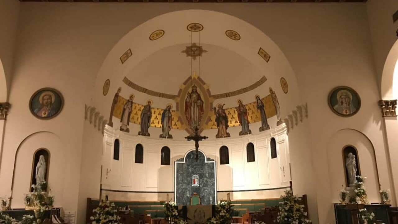 Local diocese planning for return of mass this weekend