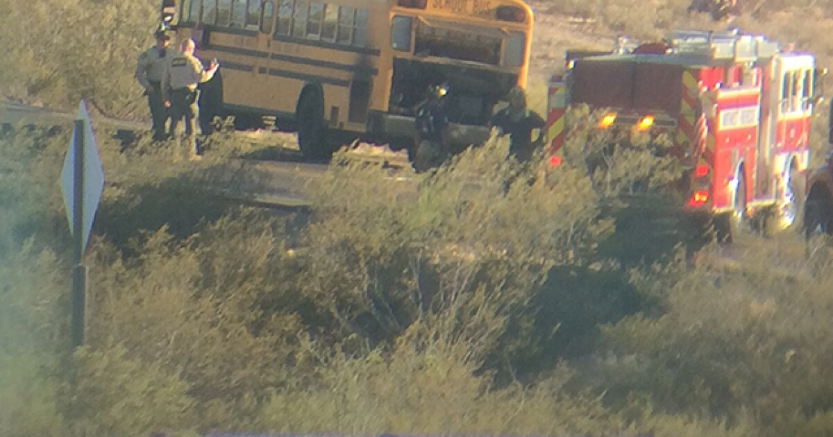 PCSD: School bus catches fire, no injuries