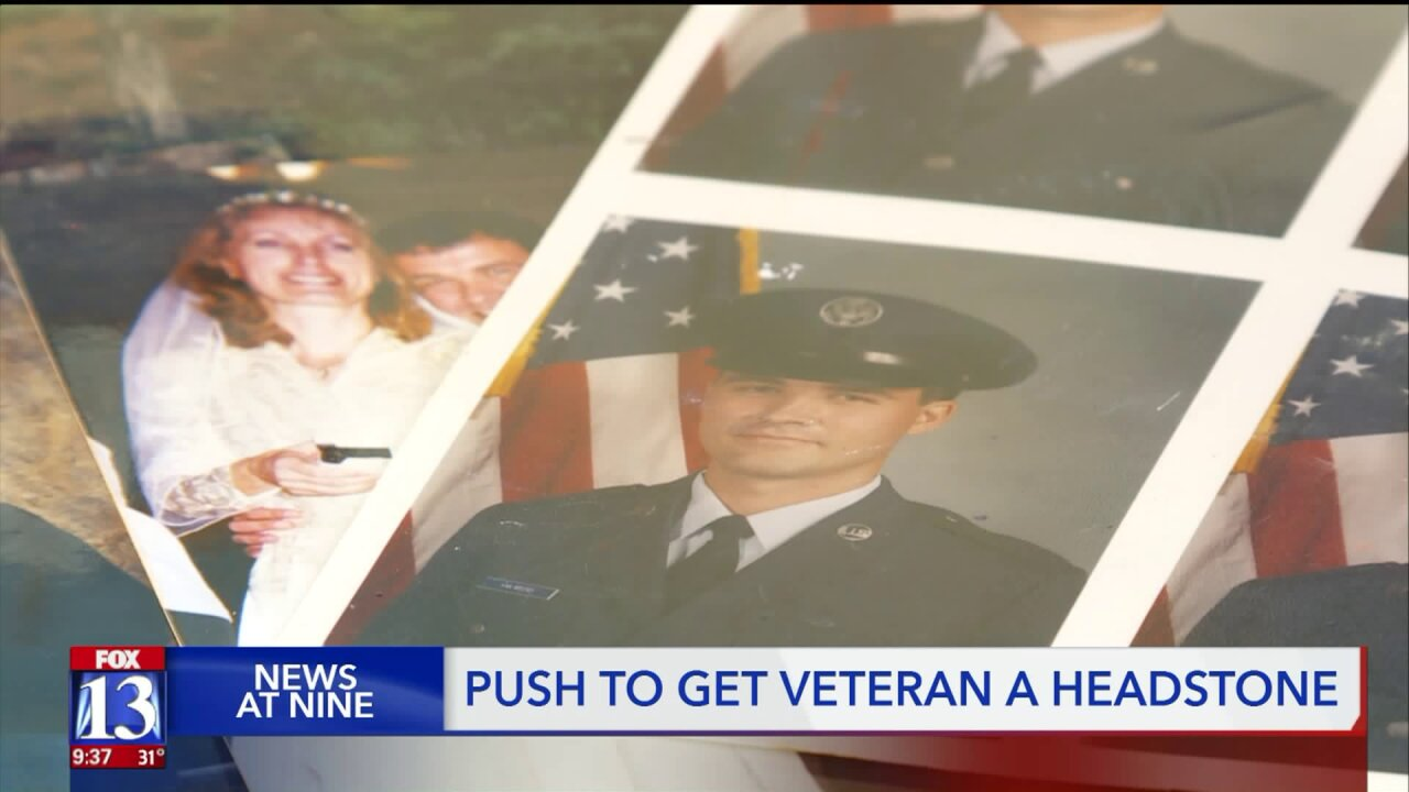 Woman raises money for her veteran father's headstone
