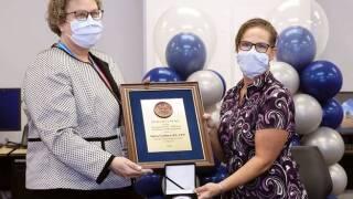 nursing secretary award