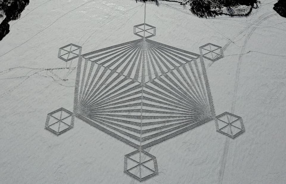 Snow Shoe Art