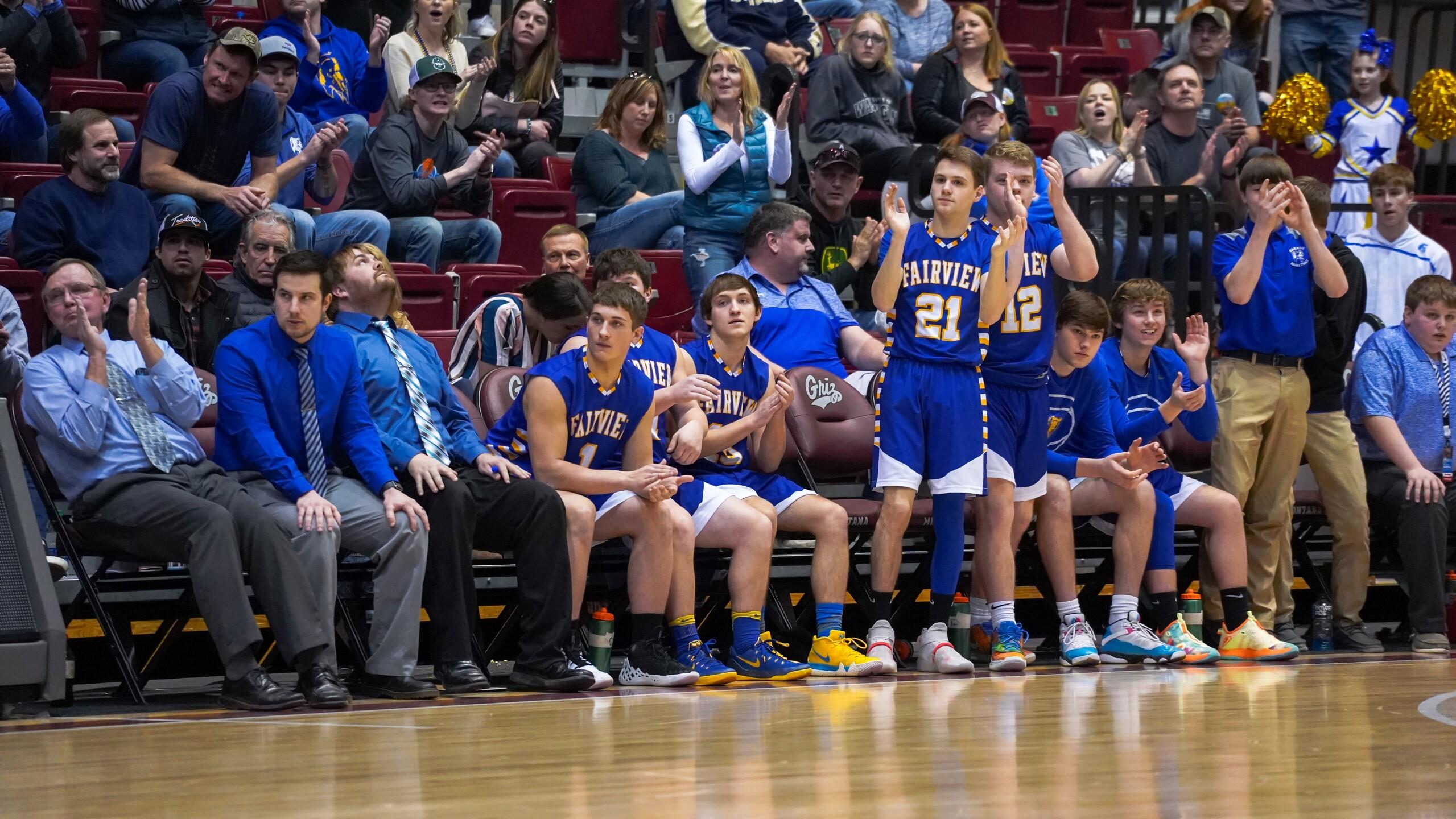 Fairview boys basketball