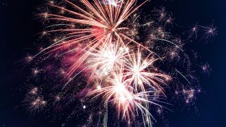 File image: Fireworks display.