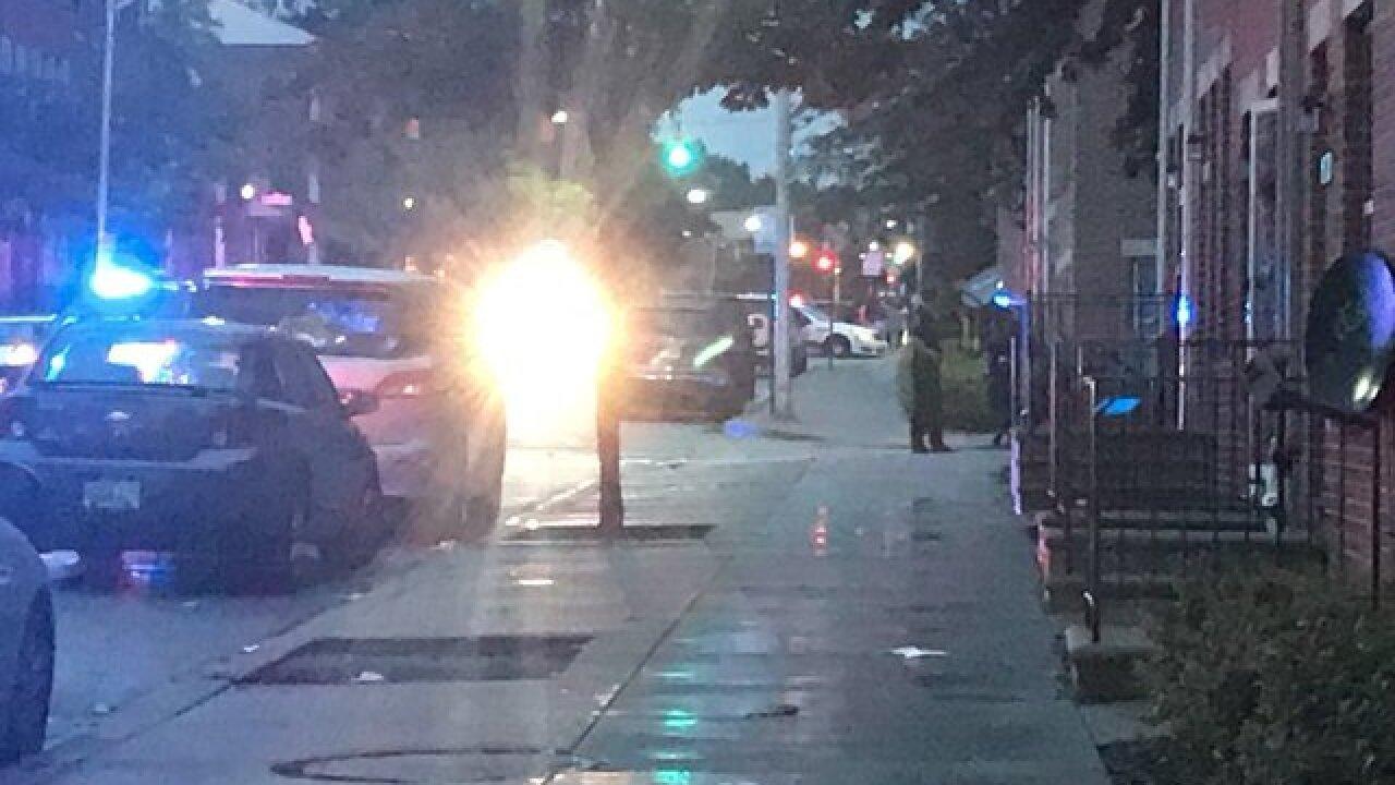 Officer shot Sunday evening in West Baltimore