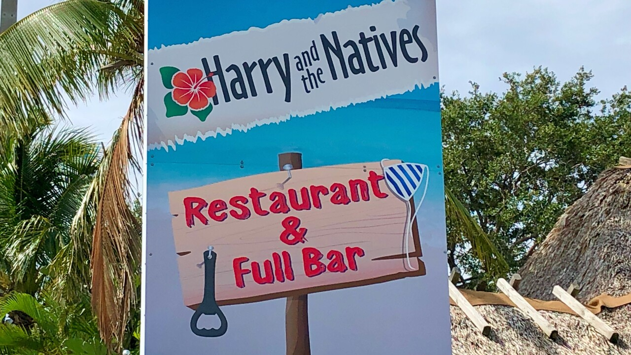 Hobe Sound's Favorite waterfront restaurant (waterfront when it rains really hard in the parking lot!).