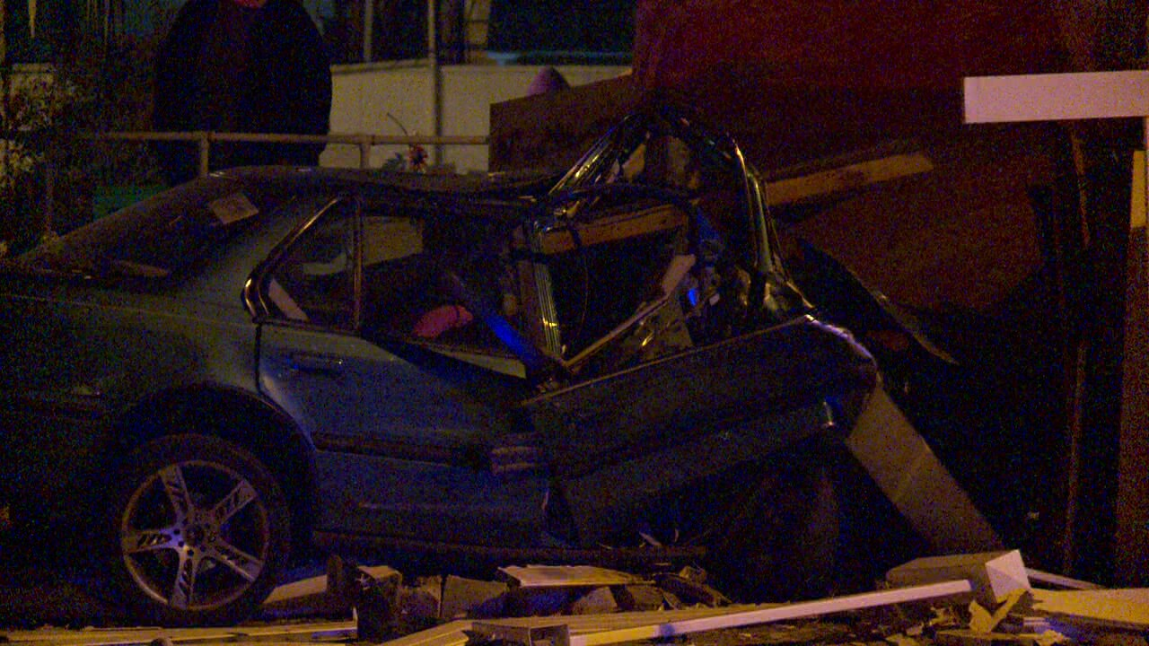 Driver seriously injured in crash that sent plywood through windshield in West Valley City