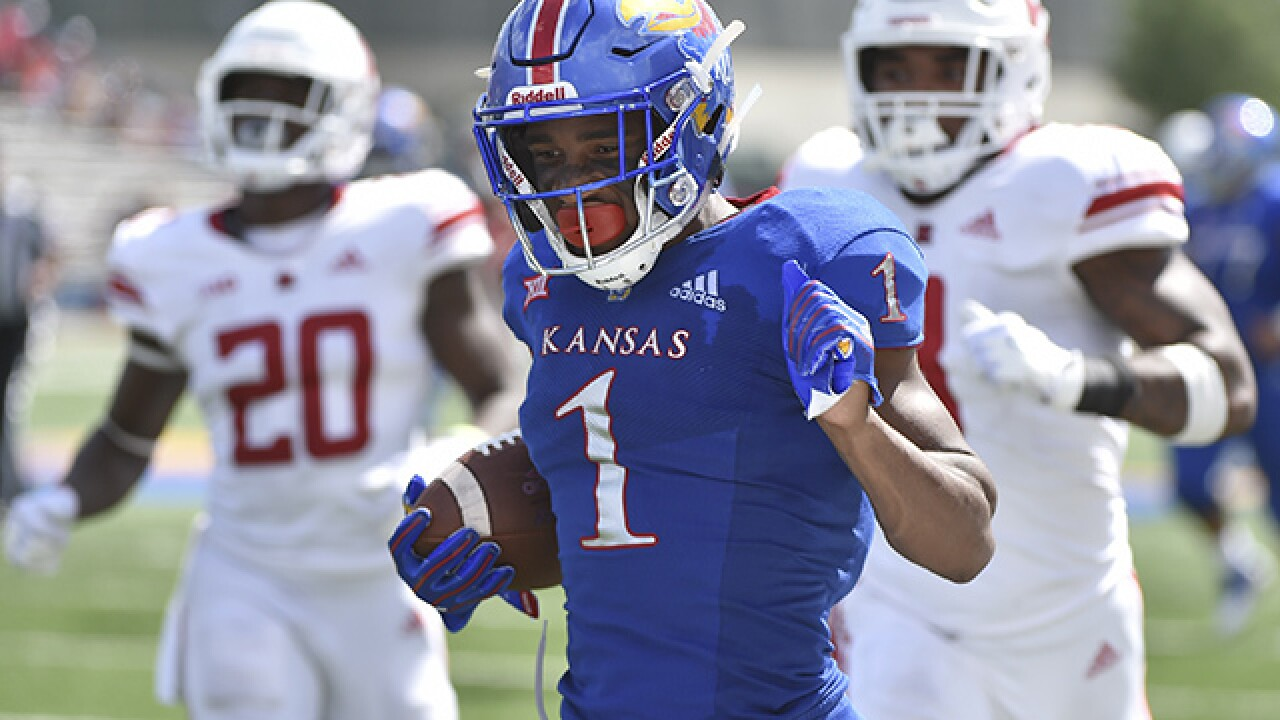 RB Pooka Williams giving Kansas a big lift early in season