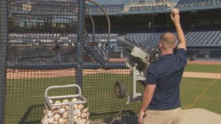 The Nashville Sounds allowing groups to come for batting practice