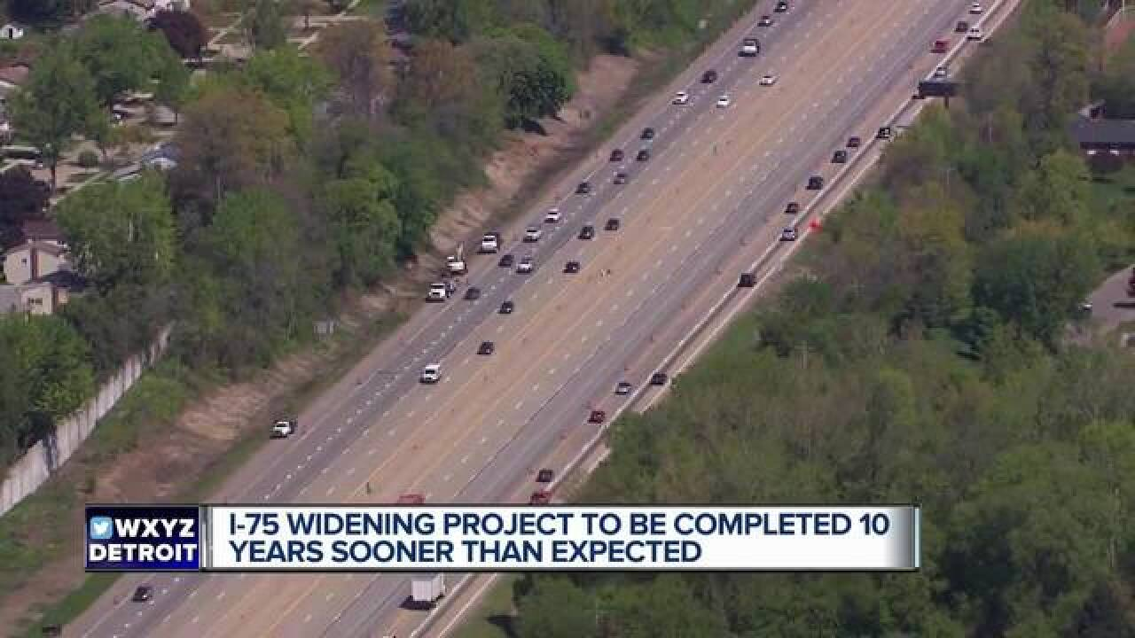 How MDOT plans to cut 10 years on the I-75 modernization project