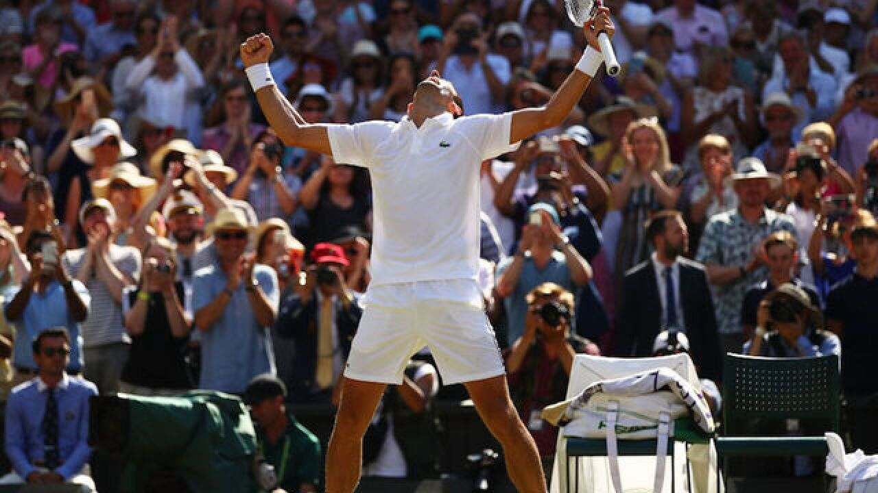 Novak Djokovic breezes past Kevin Anderson to win fourth Wimbledon title