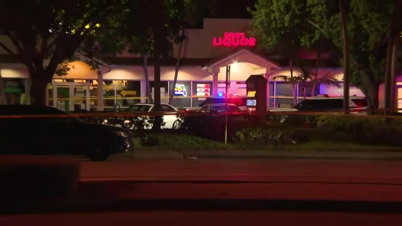 Coconut Creek police-involved shooting scene