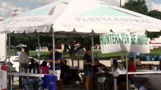 Hunters for the Hungry collect donations on September 20th