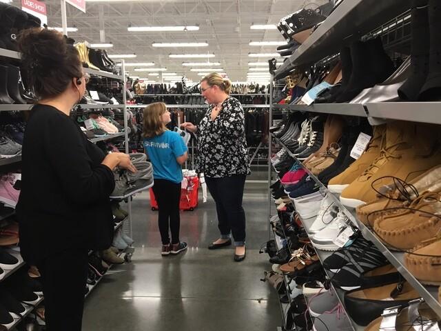 PHOTOS: Young Cancer Survivor Goes On Shopping Spree