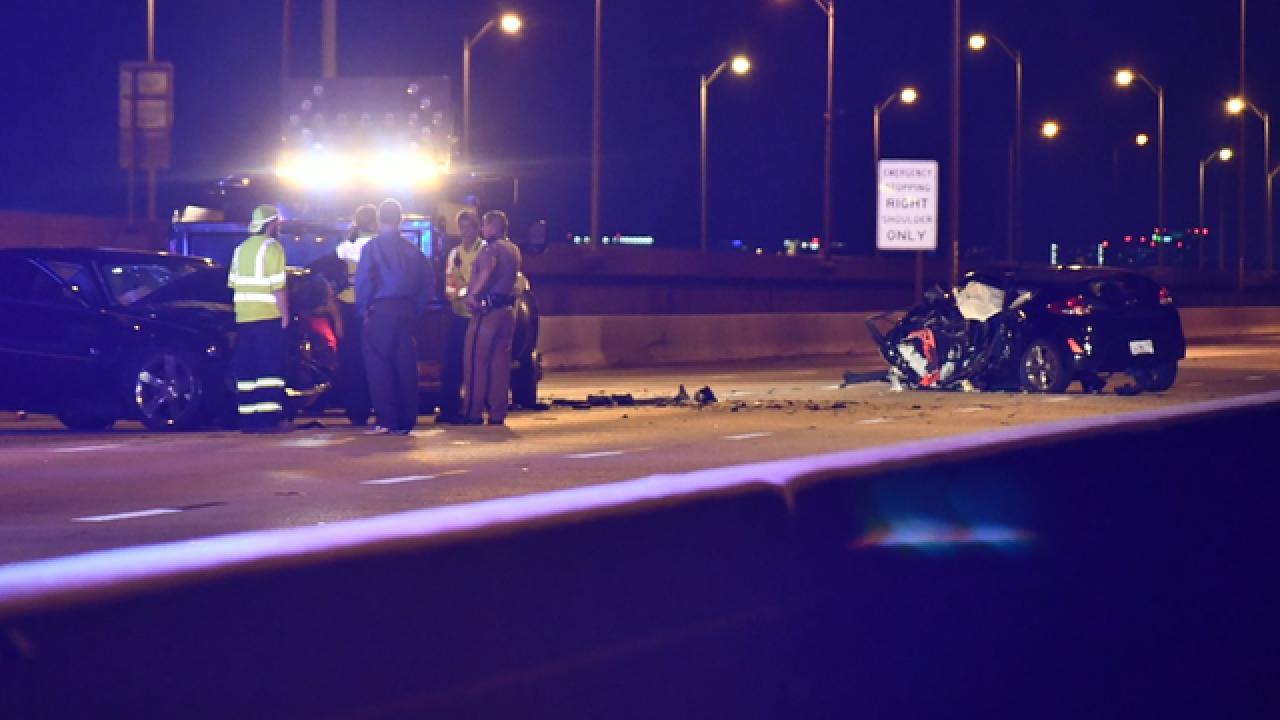 Wrong-way crash closes Howard Frankland Bridge