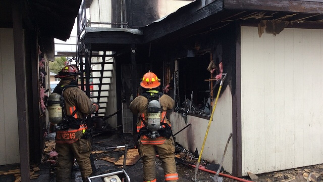 12 displaced by cooking fire