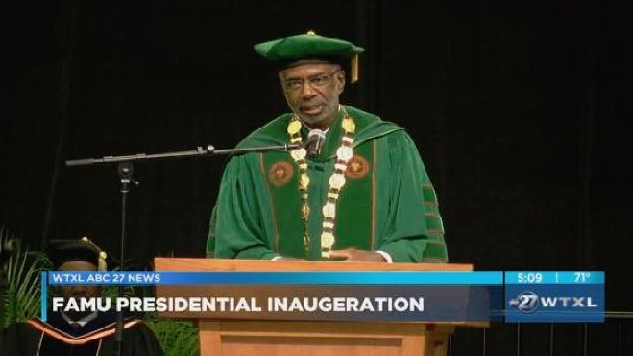 FAMU inaugurates Dr. Larry Robinson as 12th president